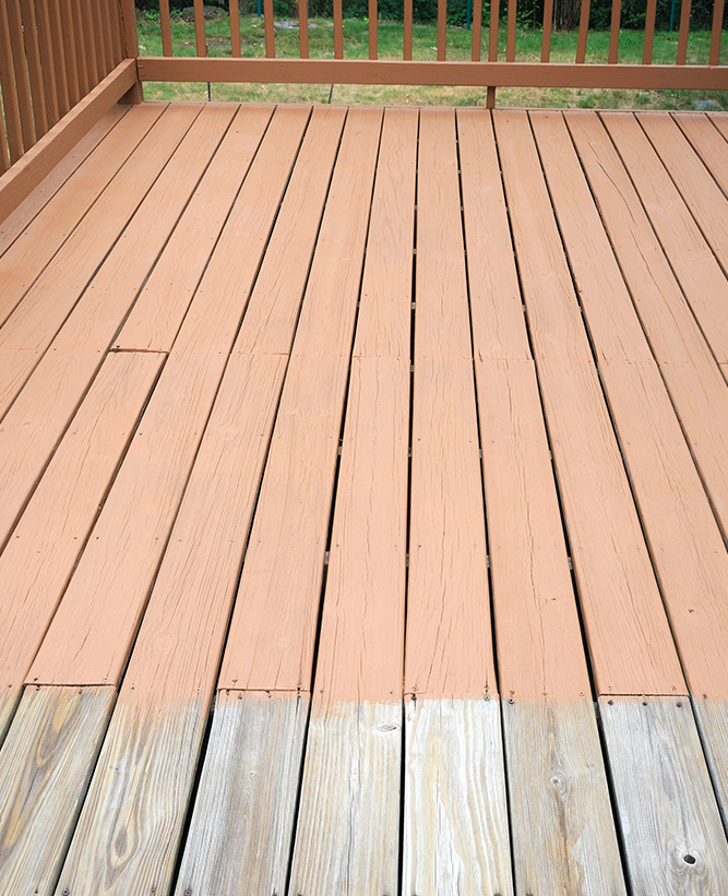 Staining Decks & fences